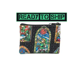 The Legend of Zelda Coin Bag // Pouch // Change Purse // Ready to Ship // Nintendo
