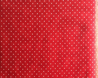 """MODA, """"ESSENTIAL DOTS"""", Red and white"""