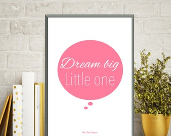 Baby girl decor, Baby girl love poster, Baby illustration, Nursery art girl, Illustration print, Nursery art, Baby gift, Nursery wall decor