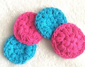 Face Scrubby // Cotton Face Scrubby // Crochet Face Scrubby // Handmade Face Scrubby // Cleansing Pad // Cotton Pad