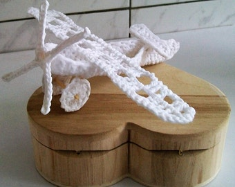 Miniature aircraft at the hook centre table / table centre / decoration holidays / urn decoration / brand places invited
