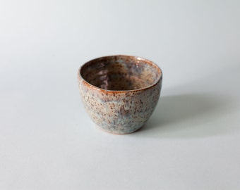 Ice Blue Speckled Bowl