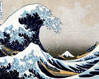 The Great Wave Katsushika Hokusai Poster