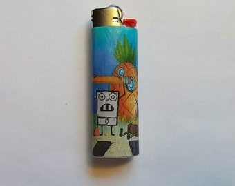 Custom Spongebob Squarepants Lighter - Doodlebob
