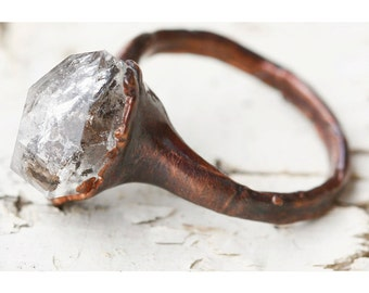 unique engagement ring promise ring for her stone promise ring alternative quartz wedding rings - Unique Wedding Rings For Her