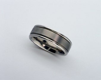 Titanium Ring, Titanium Wedding Band, Personalised Band, Free Shipping