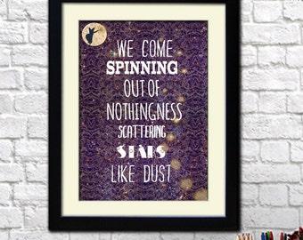 Stardust Illustrated Print