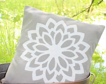 16x16- Flower Pillow Cover