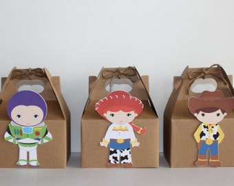 Toy Story Party Favor Boxes