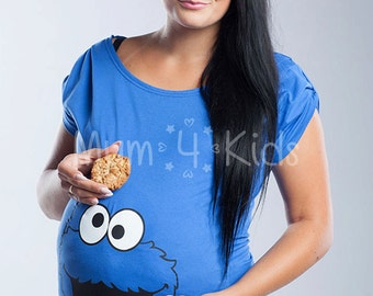 Maternity Tunic with Cookie Monster Print!
