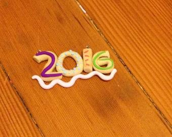 2016 Donut Pendant