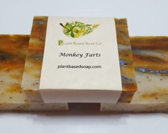 Monkey Farts Handmade Soap Bar