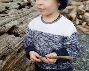 THE SAWYER . Knit hat with folded brim