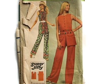 1970s Vintage Sewing Pattern - Simplicity 9360