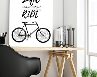 Bicycle Art, Bike Print, Bicycle Poster, Cycling Print, Bike Gift, Cycling Art, Bicycle Wall Art, Cycling Poster, Cycling Gifts, Accessories