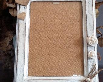 wooden photo frame SHABBY CHIC