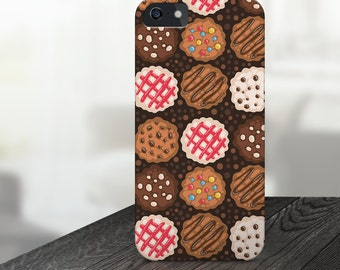 cookies iphone case, chocolate iphone case, baking iphone case, food iphone case, cookies phone case, baking iphone 6s case