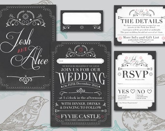 Printable Wedding Stationary