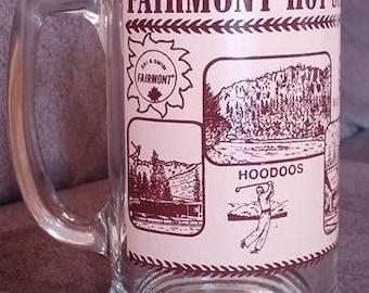 Vintage Fairmont Hot Springs BC, Canada Mug