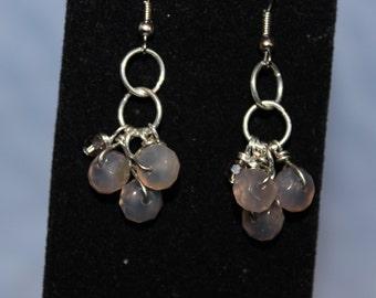 Little Quartz Cluster Earrings