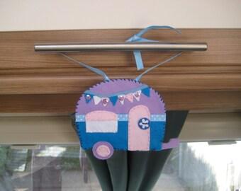 Caravan, Caravan Gifts, Sign, Personalised, Caravan Bunting, Travel Trailer, Camper Van, Motorhome, Camping, MinnieMiles, Retro, Grandparent