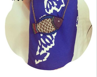 Free shipping handmade beaded women bag with chain for retail or wholesale