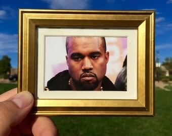 Unimpressed Kanye West - Mini Framed Art (FREE S&H)