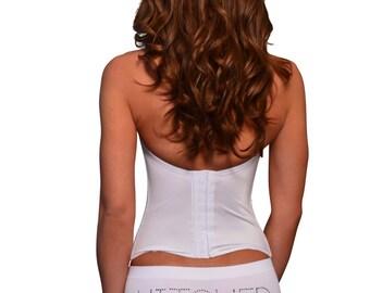 HItched Rhinestone Bridal Underwear