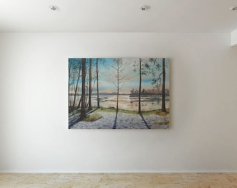 Spring is coming - Canvas decor