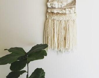 Wall Art Weaving Natural/Cream