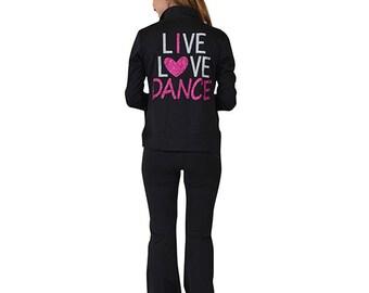 Women's Live Love Dance Warmup Jacket