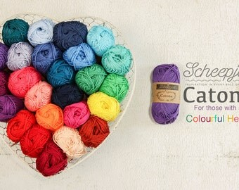 cotton, yarn, 100% Cotton, pink, catona, ships
