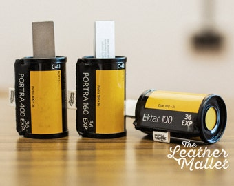 Flash USB Drive Upcycled from 35mm films. An excellent gift for photographers or anyone who loves all things retro