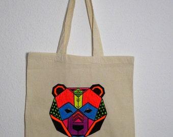 Canvas tote bag - Bear