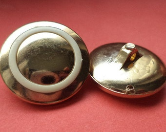 7 buttons gold 23mm (1157) button
