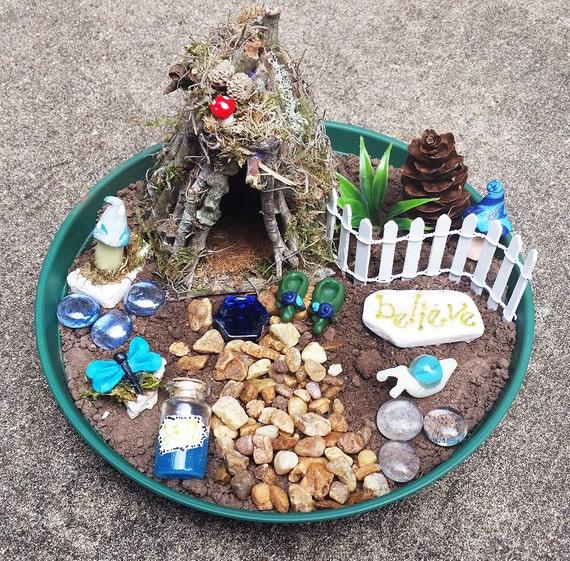 Fairy House Kit Fairy Garden Kit Fairy Garden Accessories