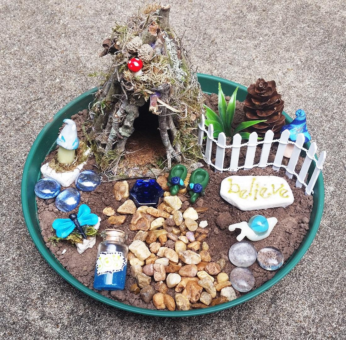 Fairy house kit fairy garden kit fairy garden accessories for Fairy garden kits