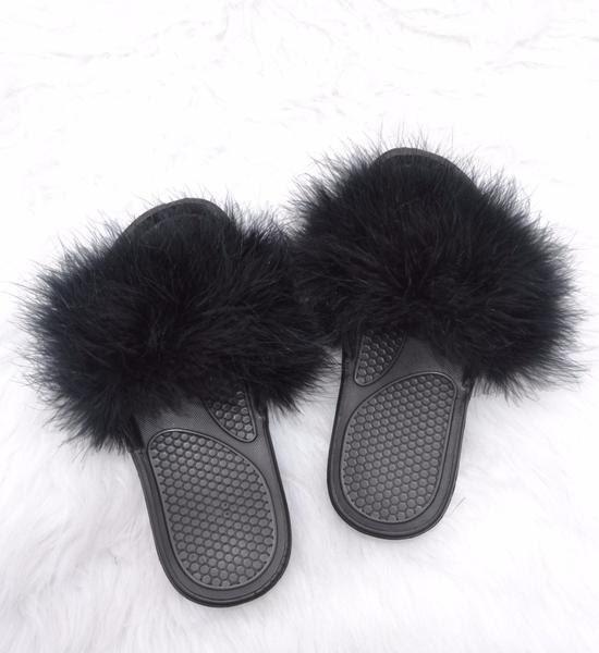 Slides Shoes Furry