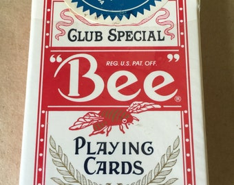 Nugget Casino Reno Nevada Bee Brand Playing Cards Resealed with Sparks Nevada Seal