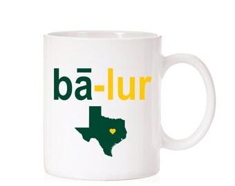 Baylor University Phonetic Mug | Baylor Bears | Waco TX |  BU