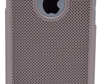 IPhone case 6 / 6s QUADRA gold pink comma