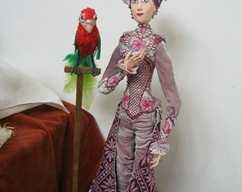 Rosalind and Parrot