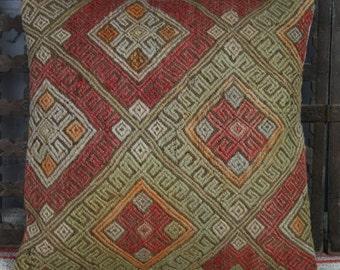 Vintage Kilim Cushion Cover 40x40 cms