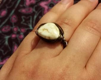 Ivory & Brass Ring
