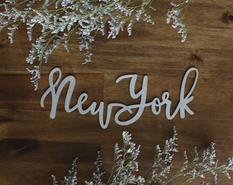 State Hand Lettered Wall Decor PICK YOUR STATE