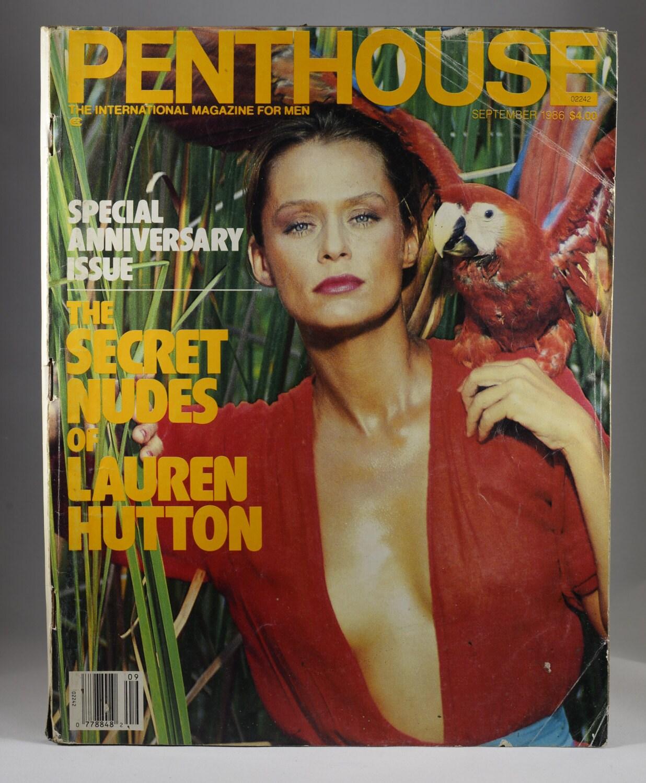 Penthouse Magazine Mature Nude Women 1980s Culture Vintage