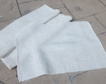 10% off!  Handwoven Linen Placemats - Lily of the loom
