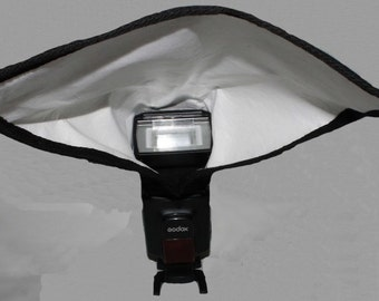 Camera Flash Light Reflector Photography Accessories Lighting modifier Studio or Outdoor Bounce Diffuse Light Rectangle