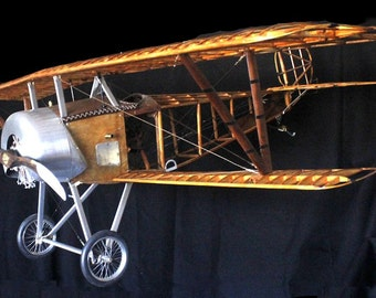 """Nieuport 11 """"Bebe"""" World War I Fighter Plane - 1:5 Scale Model - The Perfect Gift for a Pilot"""