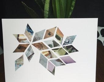 Lavender Diamond Print